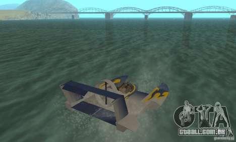 Hydrofoam para GTA San Andreas esquerda vista