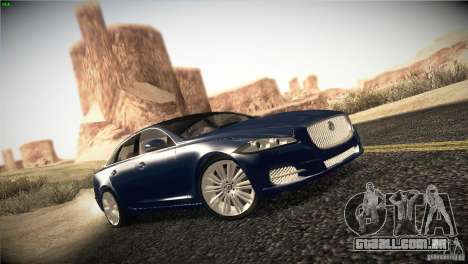 Jaguar XJ 2010 V1.0 para GTA San Andreas vista direita