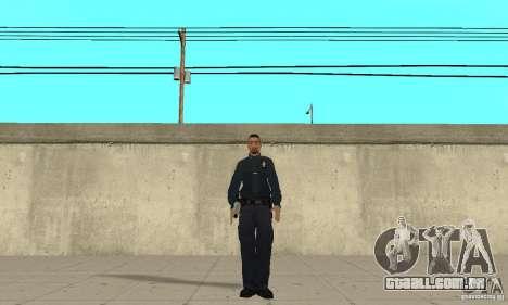 Um policial do GTA 4 para GTA San Andreas