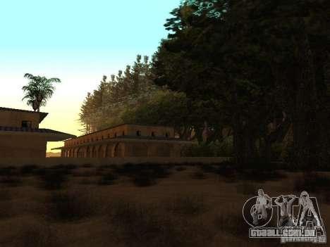Floresta em Las Venturas para GTA San Andreas sexta tela