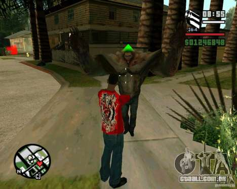 Tanque do Left 4 Dead. para GTA San Andreas