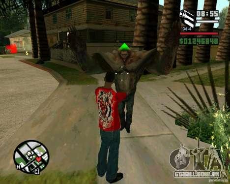 Tanque do Left 4 Dead. para GTA San Andreas