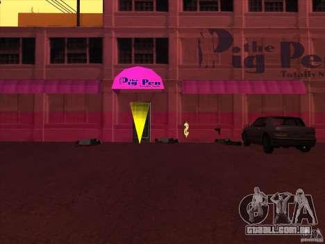 PigPen para GTA San Andreas segunda tela