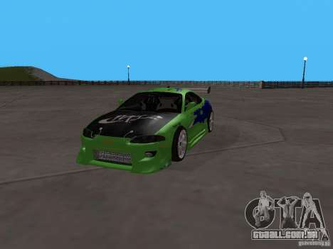 Mitsubishi Eclipse Tunable para GTA San Andreas vista traseira