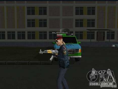 Peles de milícia para GTA San Andreas terceira tela
