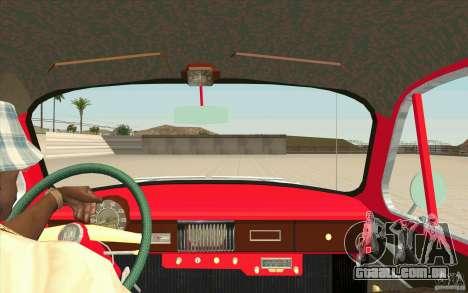 Moskvich 407 para GTA San Andreas vista direita