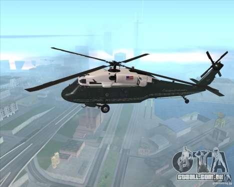 Sikorsky VH-60N Whitehawk para GTA San Andreas