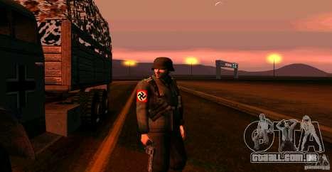 Soldados da Wehrmacht para GTA San Andreas