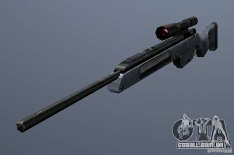 Steyr Scout para GTA San Andreas segunda tela
