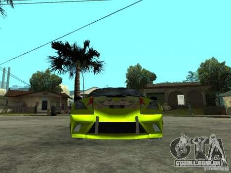 Toyota Celica para GTA San Andreas vista direita