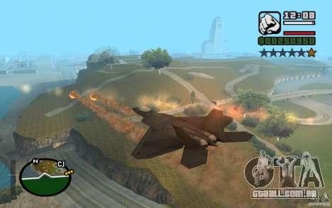 Hydra, mod Panzer para GTA San Andreas sexta tela