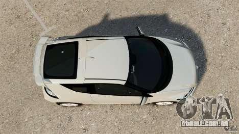 Honda Mugen CR-Z v1.1 para GTA 4 vista direita