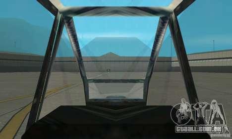 An-64 Apache para GTA San Andreas vista direita