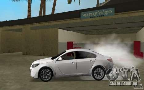 Opel Insignia para GTA Vice City deixou vista