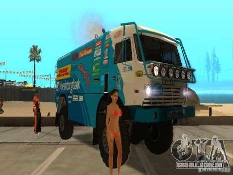 Vinil para GTA San Andreas segunda tela