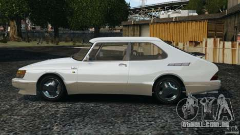 Saab 900 Coupe Turbo para GTA 4 esquerda vista