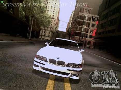 BMW E39 M5 2004 para o motor de GTA San Andreas