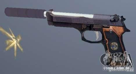 Beretta SD para GTA San Andreas segunda tela
