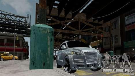 Audi Q7 para GTA 4 vista de volta