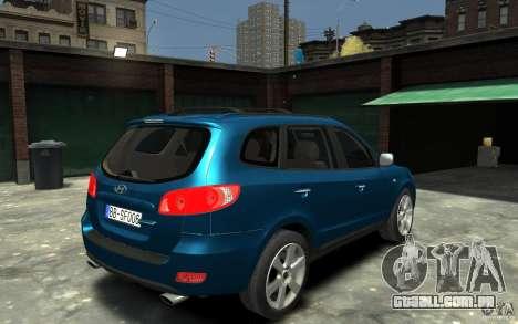 Hyundai Santa Fe para GTA 4 vista direita