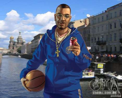 Tela de boot Rússia na América para GTA 4