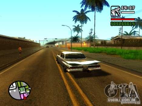 ENBSeries v2 para GTA San Andreas por diante tela