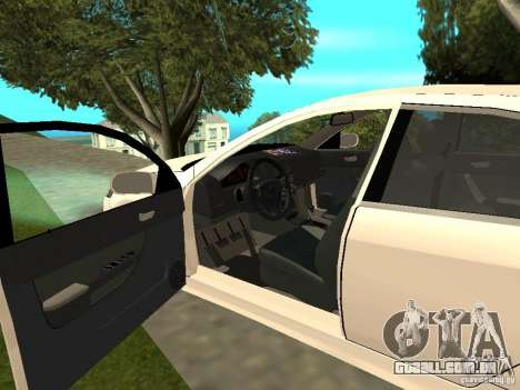 Honda Accord Type S 2003 para GTA San Andreas vista traseira