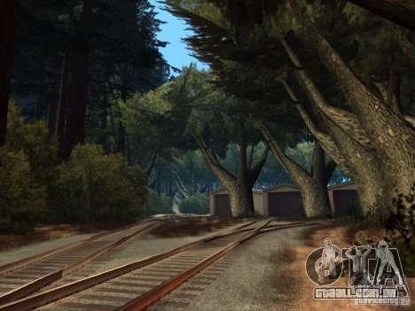 Floresta em Las Venturas para GTA San Andreas nono tela