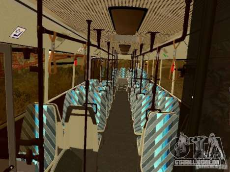 MAN SL202 para GTA San Andreas vista interior