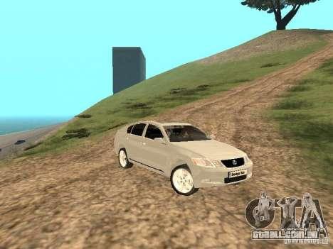 Lexus GS-350 para GTA San Andreas