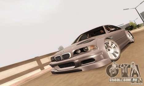 BMW M3 GTR para GTA San Andreas