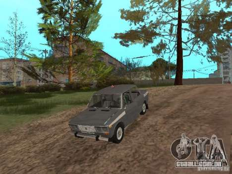 VAZ 21063 acadêmico para GTA San Andreas vista interior