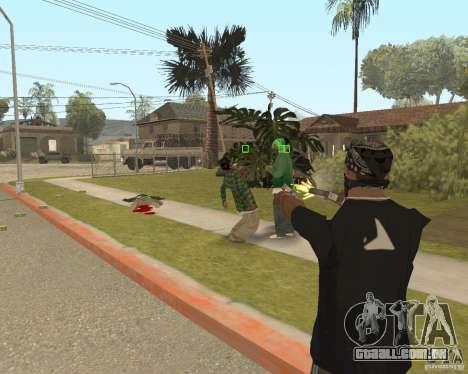 Mark and Execute para GTA San Andreas terceira tela