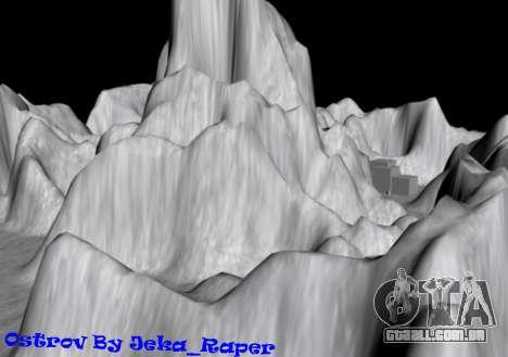 Mountain map para GTA San Andreas