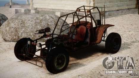 Half Life 2 buggy para GTA 4 vista direita