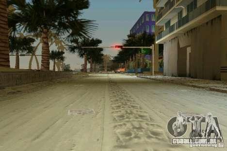 Snow Mod v2.0 para GTA Vice City por diante tela