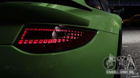 RUF RGT-8 2011 para GTA 4 traseira esquerda vista