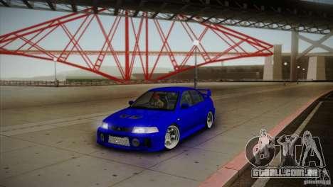Mitsubishi Lancer Evolution lX para GTA San Andreas