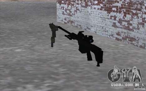 M98B para GTA San Andreas segunda tela