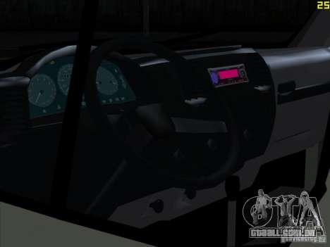 Gazela 2705 para GTA San Andreas vista direita