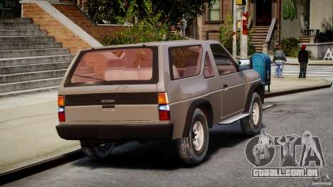 Nissan Terrano para GTA 4 vista lateral