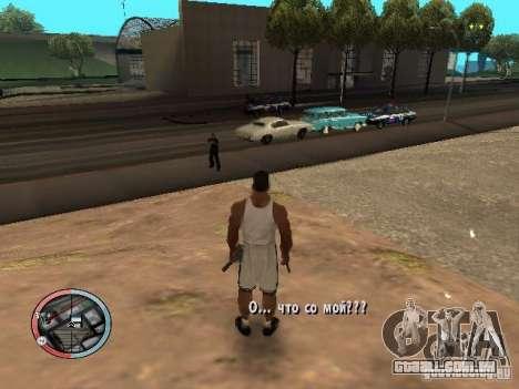 DRUNK MOD para GTA San Andreas segunda tela