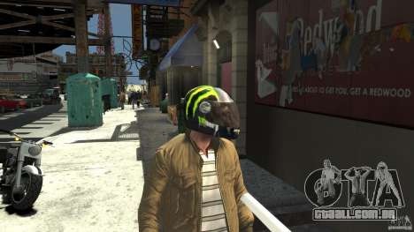 Energy Drink Helmets para GTA 4 por diante tela
