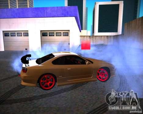 Nissan Silvia S15 face S13 V.2 para GTA San Andreas esquerda vista