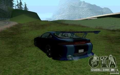 Mitsubishi Eclipse 1999 Sport para GTA San Andreas esquerda vista