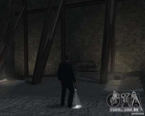 Flashlight for Weapons v 2.0 para GTA 4 quinto tela