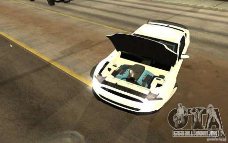 Shelby Mustang 1000 2012 para GTA San Andreas vista direita