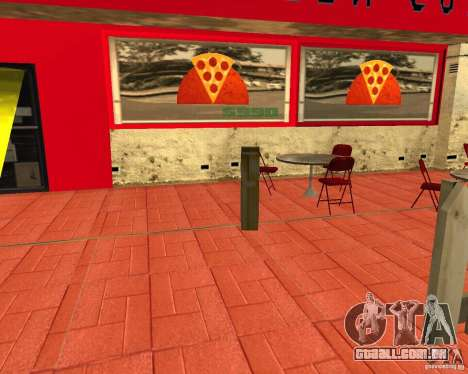 Comprar pizza para GTA San Andreas terceira tela