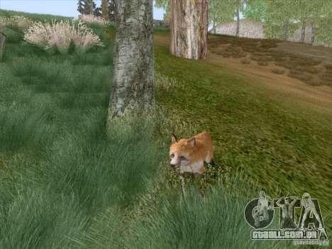 Wild Life Mod 0.1b para GTA San Andreas nono tela