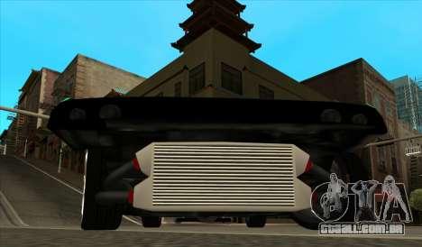 Elegy Piu para GTA San Andreas vista traseira